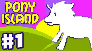 Pony Island - Gameplay Walkthrough Part 1 - Intro and Act I (PC Indie Game)