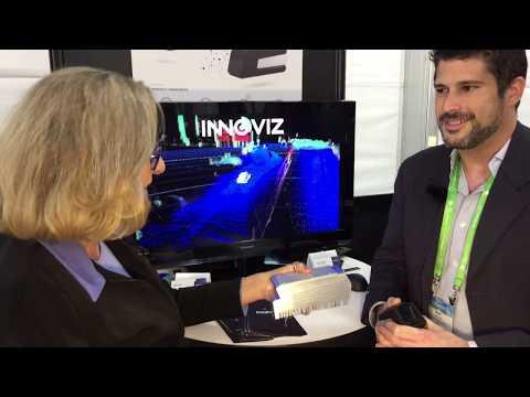 Omer Keilaf, CEO Innoviz Technologies LiDAR at 2017 LA Auto show