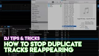 Serato Trick: How To Stop Duplicate Tracks Reappearing