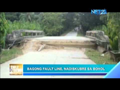 New Faultline Discovered in Bohol