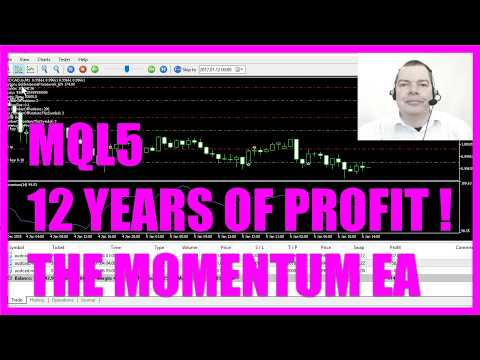 MQL5 TUTORIAL - ADVANCED 12 YEARS OF PROFIT MOMENTUM EA