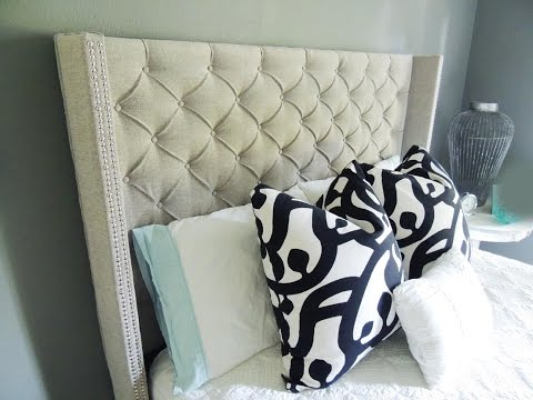 diy-fabric-headboard-and-footboard