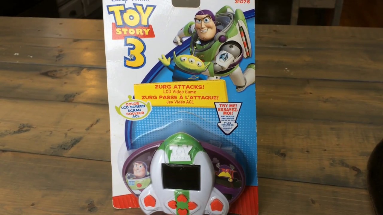 All Toy Story 3 Games : Toy story zurg attacks lcd game from defeat
