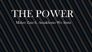 the power Mahir zain lyrics Mp3