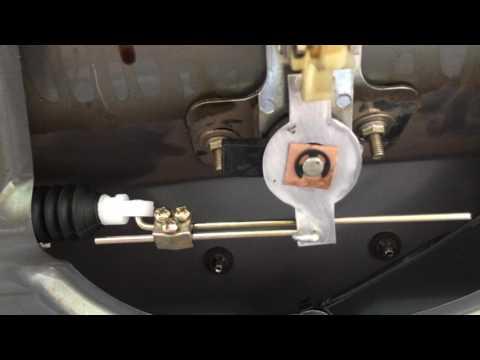 Открытие  багажника с пульта Лада калина вариант 1 (привод дверной для багажника)