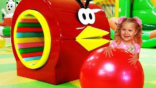 Indoor Playground for kids fun Play time / Roma and Diana
