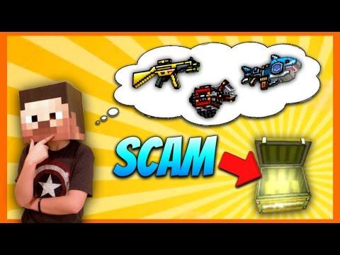 BIGGEST SCAM EVER... | Pixel Gun 3D Lucky Chest Opening #3