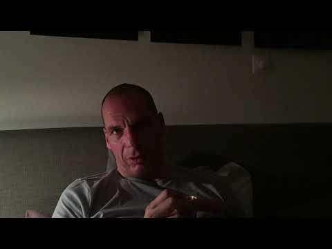Yanis Varoufakis after the OXI referendum, early morning July 6 2015