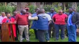 Face off at Panafric Hotel Nairobi between NASA and Jubilee legislators