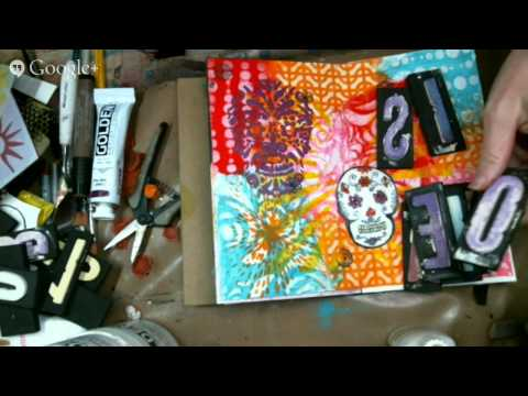 Art Journal - Day of The Dead