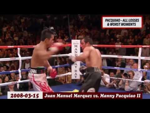 MANNY PACQUIAO -  ALL LOSSES & WORST MOMENTS ✰ BOXING FULL HD JiBowman Amanda
