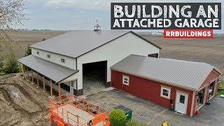How to Build a Garage Addition 21: New Garage Roof, Finished Corner Details