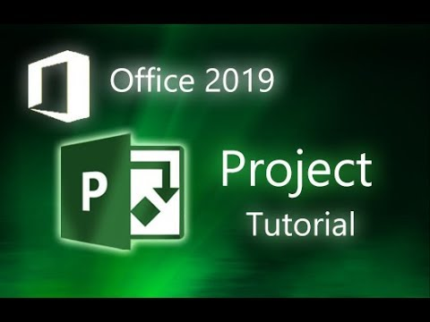 Microsoft Project Professional 2019 Full Tutorial For Beginners Overview Youtube