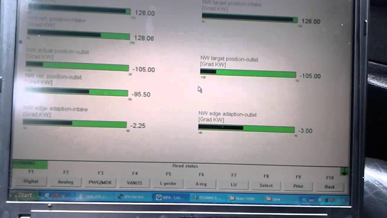 Bmw E34 M54b30 Inpa Youtube