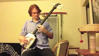 Spontaneous DORIAN Composition for 7 Days/7 Modes Shamisen Challenge
