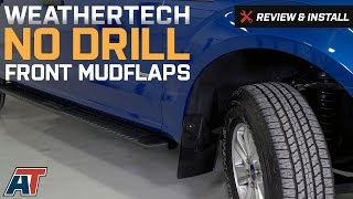 Video 2015-2017 F150 Weathertech Front No Drill MudFlaps Review & Install download MP3, 3GP, MP4, WEBM, AVI, FLV April 2018