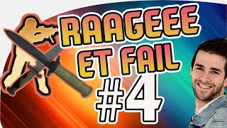 LA RAGE ET DU FAIL sur CS:GO avec Skyyart ! BEST OF FUN #4