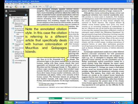 Research Tutorial- Hints for reading scientific journal articles