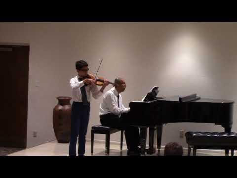 Mozart violin concerto no 3 in G major Movement III