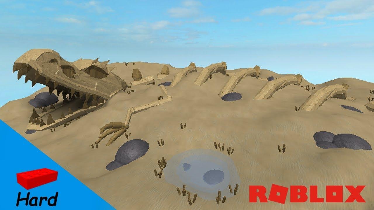 ROBLOX STUDIO SPEED BUILD / T-Rex skeleton