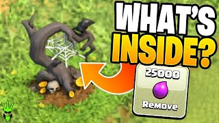 What's INSIDE the NEW HALLOWEEN OBSTACLE?! - Clash of Clans