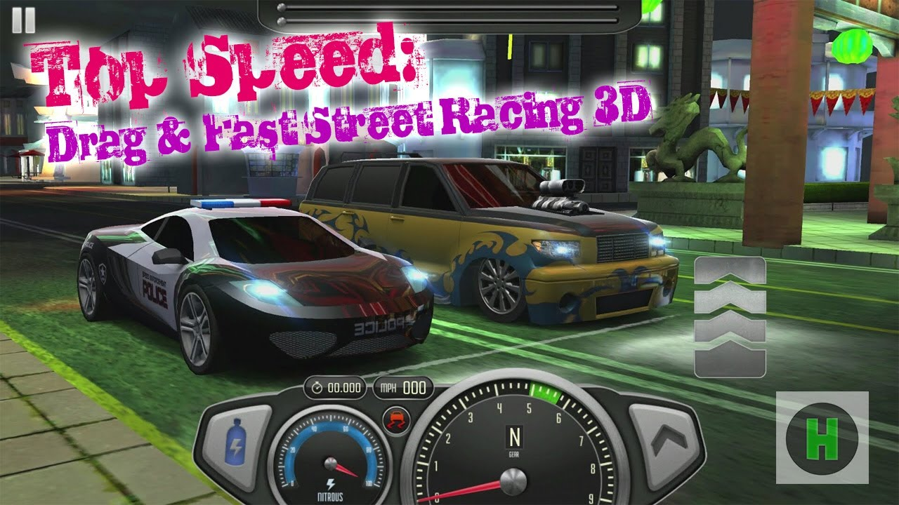 Top Speed: Drag & Fast Street Racing 3D   Android Gameplay 2017 ...