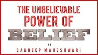PROMO: POWER OF BELIEF by Sandeep Maheshwari
