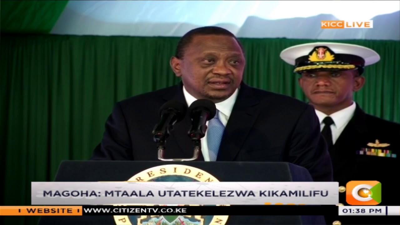 No more national exams for primary school pupils - President Kenyatta says