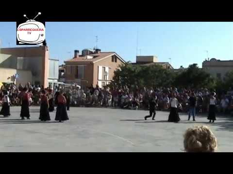 ESPARREGUERA TV. Exhibició de balls a la plaça del Centre amb motiu de la Festa Major d'Esparreguera