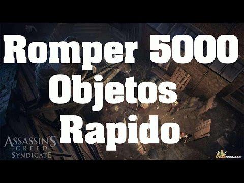 Trucos de Assassin's Creed Syndicate - Como destruir 5000 objetos con el carruaje rápido y fácil