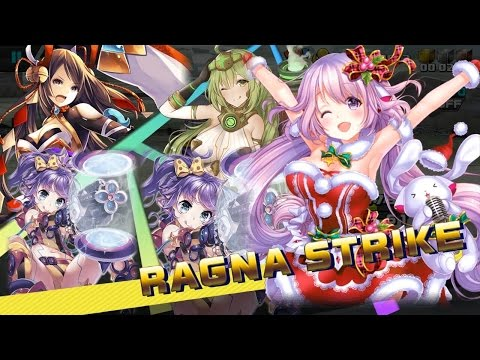 Ragnastrike Angels All Characters skills preview RAGNA 4TH 5TH STRIKE and EVENT Weapons Clothes