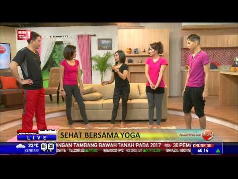 Morning Show: Sehat Bersama Yoga