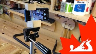 Diy Quick Clamping Tripod Mount For Iphone