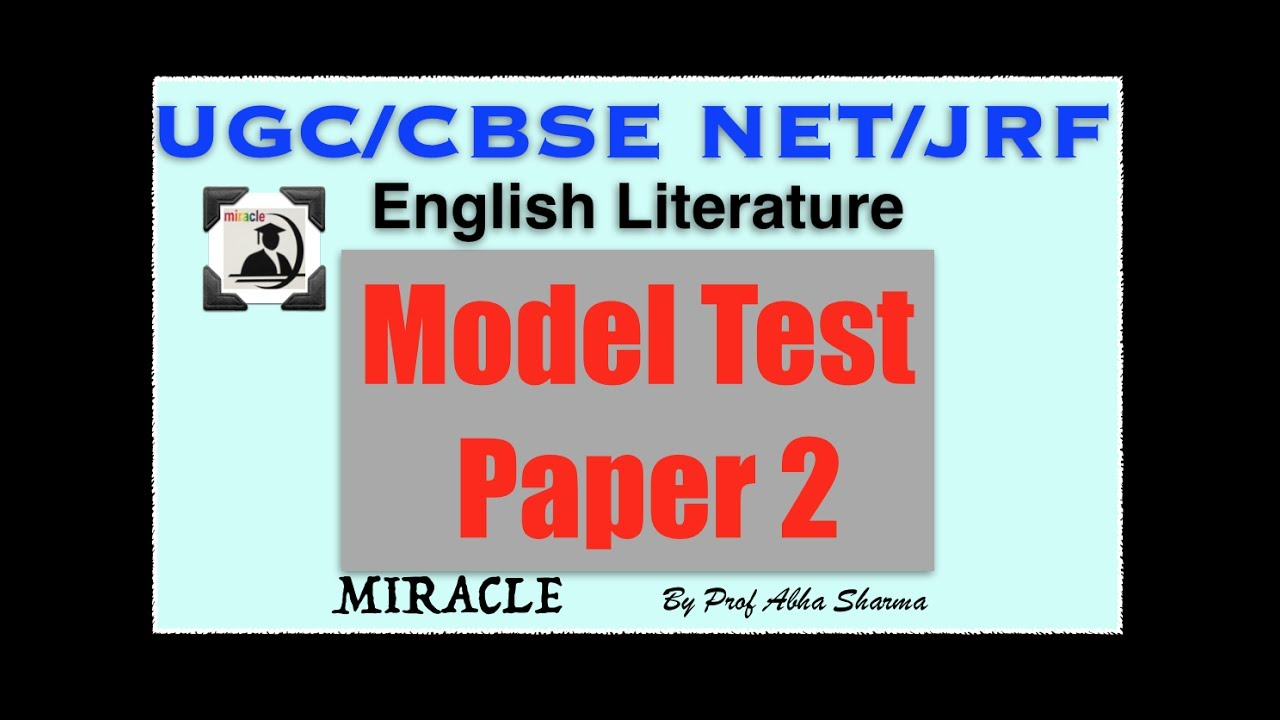 ugc net model paper Ugc net june 2014 paper 1 model practice set has been arranged by the jargranjoshcom to the candidates aspiring for the same.