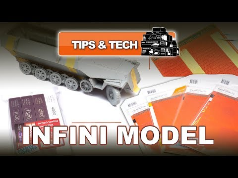 INIFINI MODEL HIGH-QUALITY SCALE MODELLING ACCESSORIES (CUTTING MATS & SANDING PRODUCTS) REVIEW