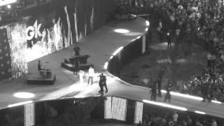 MGK performing Invincible at WrestleMania 28