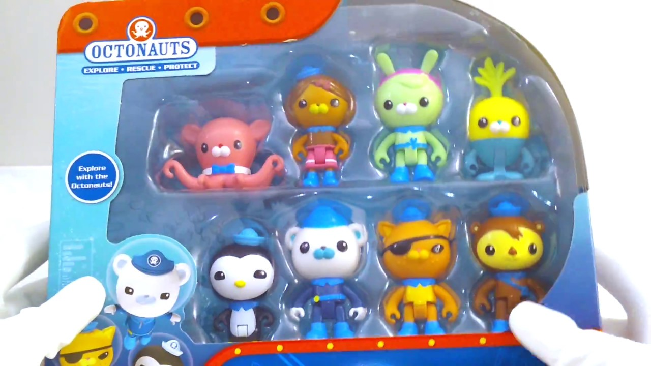 Octonauts Octonaut /& Creature Toy Figure Packs Set of 3