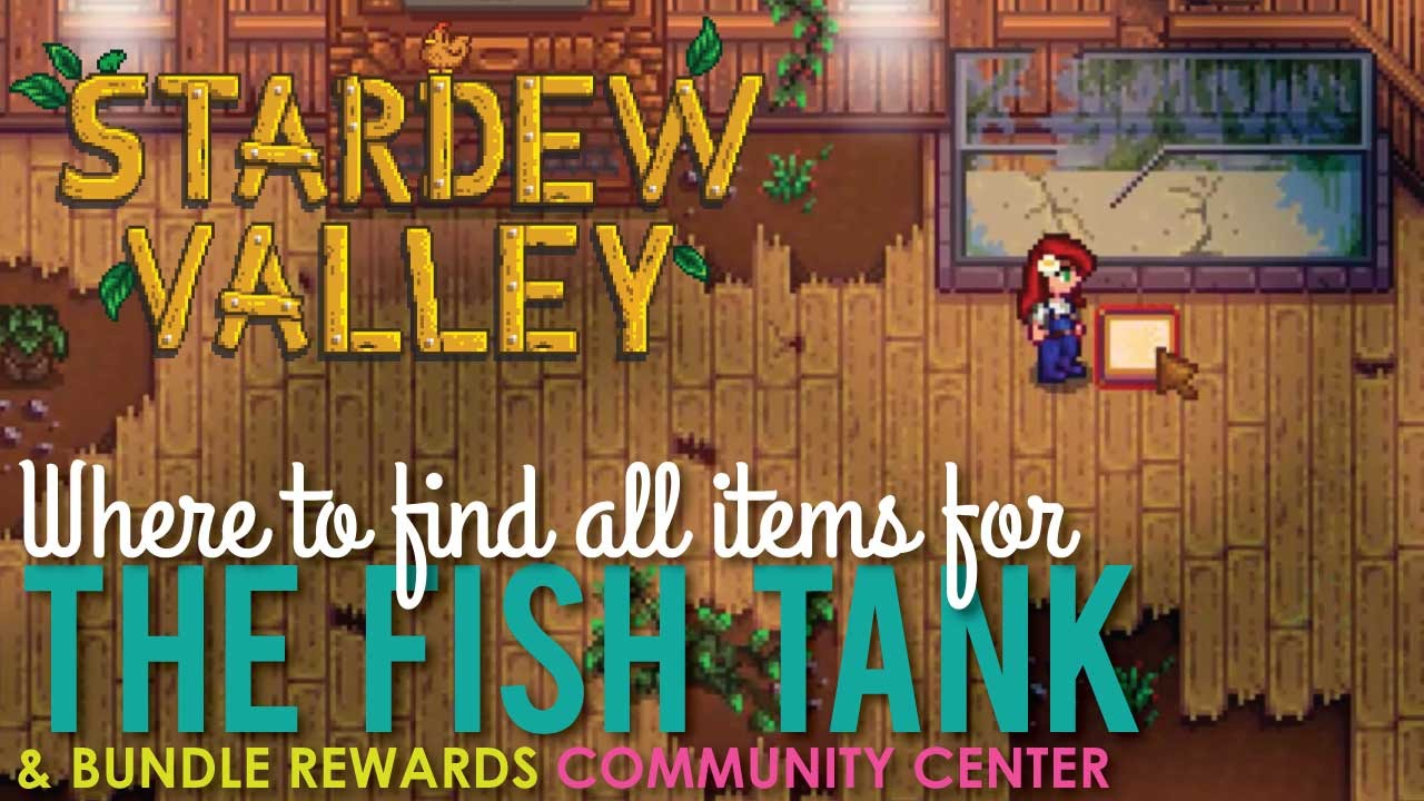 Stardew Valley Fish Tank Bundles Guide And Tips Gamescrack Org I am showing you how to (easily) catch a largemouth bass in stardew valley for the the fish tank in the. stardew valley fish tank bundles