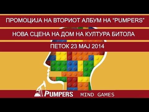 Pumpers - Mind Games [ Album Promotion Live ] 2014