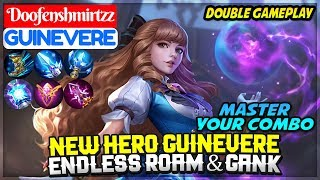 New Hero Guinevere Gameplay, Endless Roam & Gank [ Doofenshmirtzz Guinevere ] Mobile Legends
