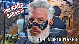 Turkish Barber teaches Santa a lesson!