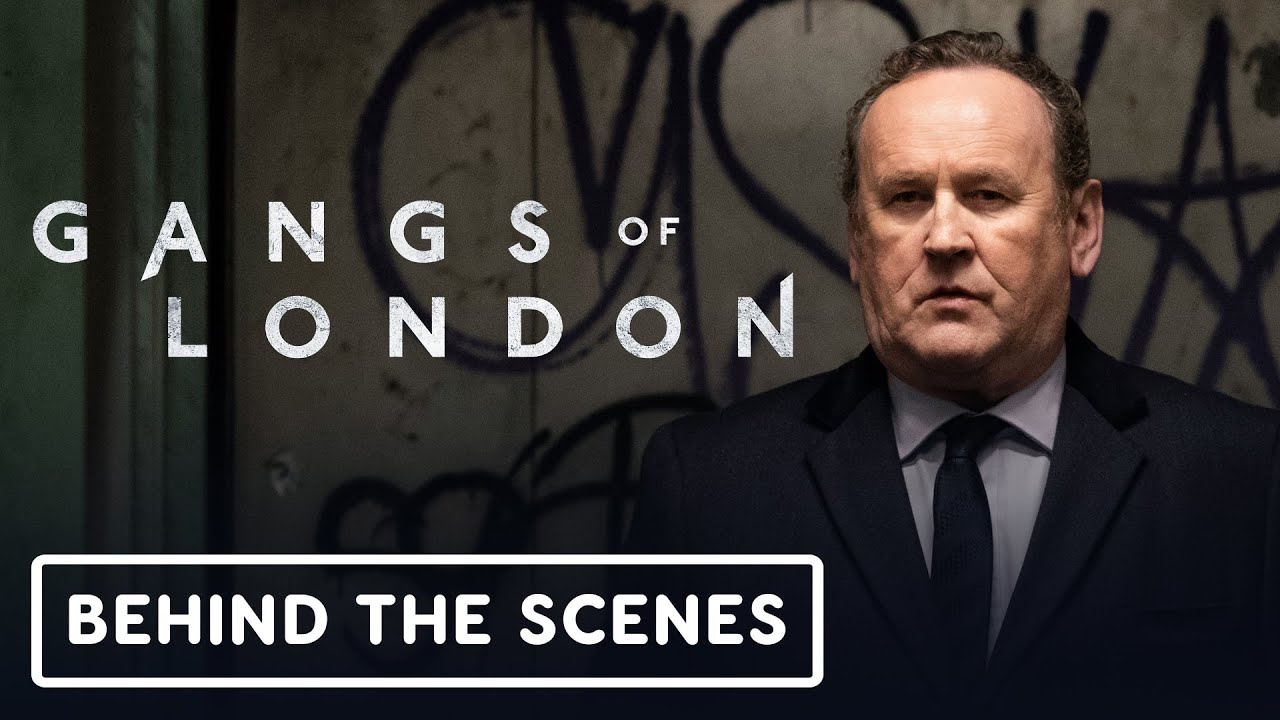 Gangs of London - Exclusivo clip detrás de escena + vídeo