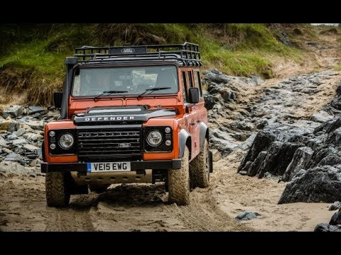 2018 land rover defender 4x4 adventure youtube. Black Bedroom Furniture Sets. Home Design Ideas