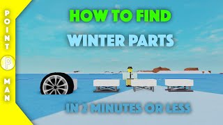 Roblox | Plane Crazy | How To Find Winter Parts! (ENDED)