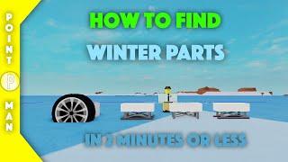Roblox | Flugzeug Verrückt | Wie winterTeile zu finden! (BEENDET)