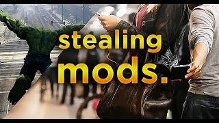 Stealing Mods