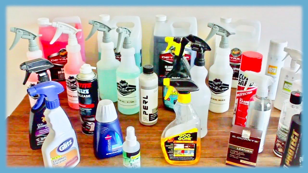 Best car interior cleaning dressing protection products reviewed