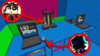 МЫ САМЫЕ МАЛЕНЬКИЕ ЛЮДИ НА СВЕТЕ! ЛЕГО ПАРКУР В МАЙНКРАФТЕ! Minecraft Lego Parkour