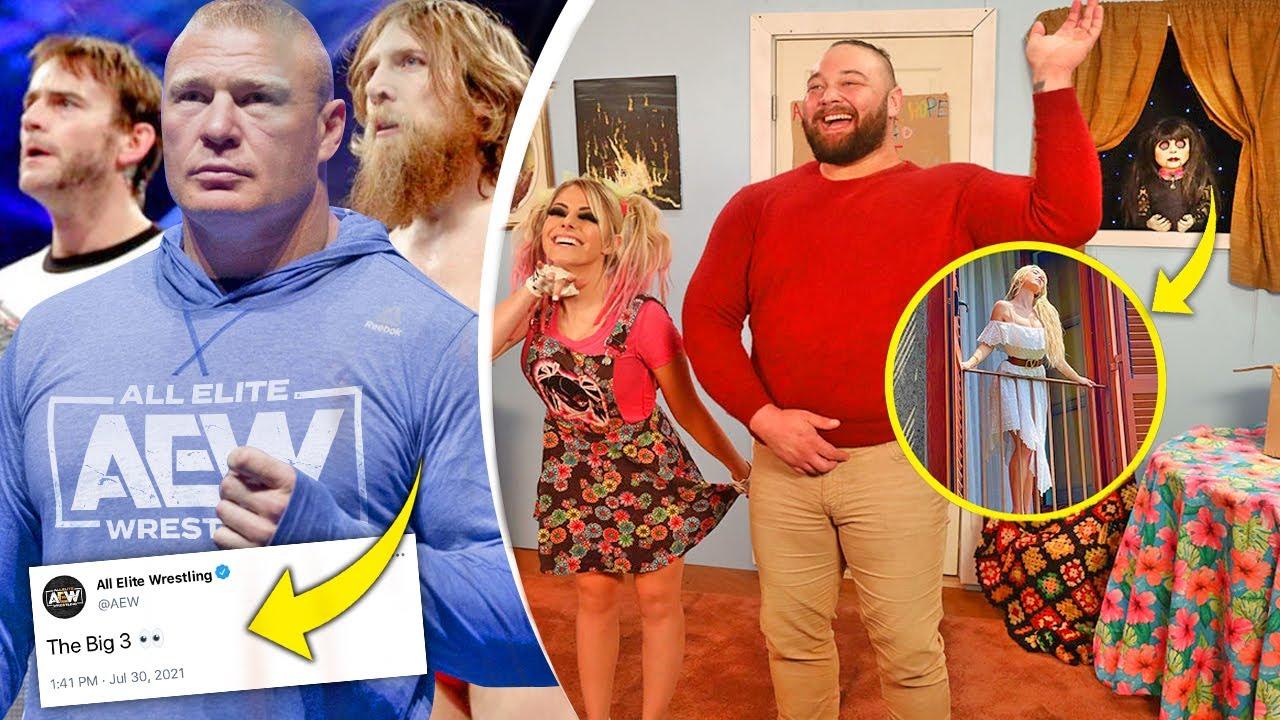 Bray Wyatt...FULL BACKSTAGE STORY! (AEW's SCARY BIG 3... CM Punk, Daniel Bryan, Brock Lesnar)