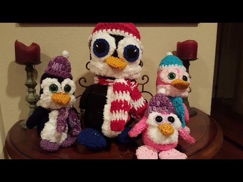 Tutorial Amigurumi Pinguino : Crochet Amigurumi Penguin Part 1 of 2 DIY Tutorial - YouTube